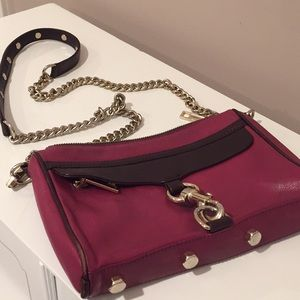 Rebecca Minkoff Pink Avery Cross Body Bag